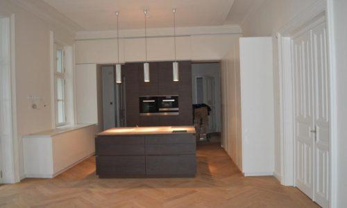 Elisabethstrasse; Küchenbereich