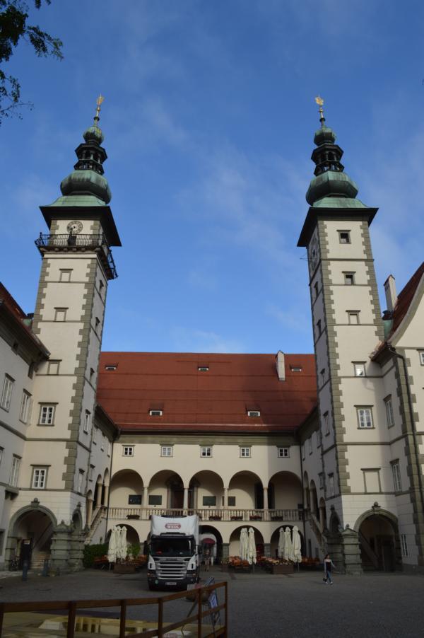 Landhaus Klagenfurt; Denkmalschutz; Schallschutz