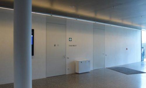 Erste Campus; Schallschutztüren; barrierefrei