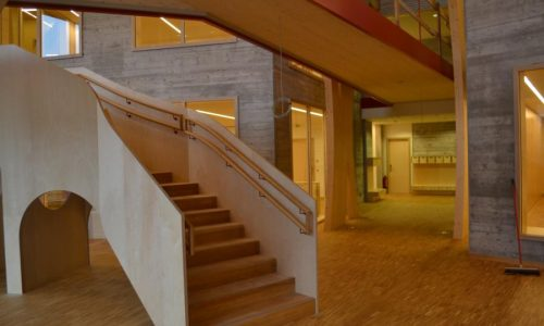 Kinder Campus; Innenraum