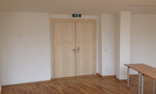 Gewerbehaus - Wilhelm-Neusser-Saal; NOT-AUS; Schallschutz