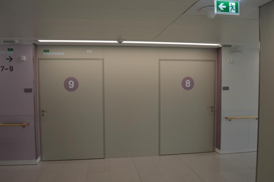 Kaiser-Franz-Josef-Spital; Schallschutztuere; Brandschutztuere