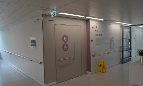 Kaiser-Franz-Josef-Spital; Barrierefrei; Brandschutz