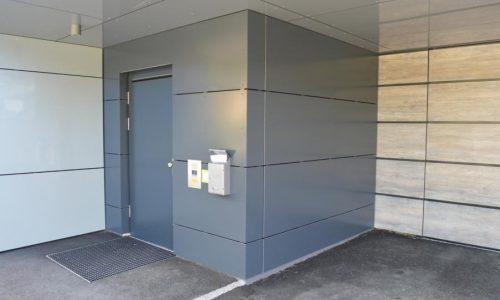 Polizeiinspektion Böheimkirchen; Sicherheitstüren