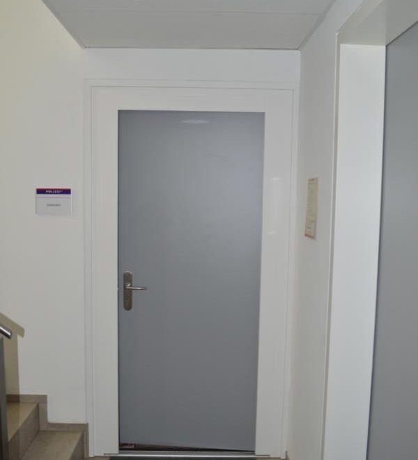 Polizeiinspektion Böheimkirchen; Sicherheitstüren; Beschusshemmende Tühre