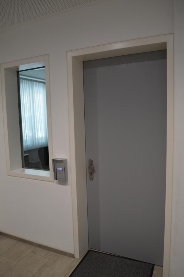 Polizeiinspektion Böheimkirchen; Beschusshemmende Türen; FB3; FB4