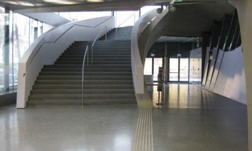 Mumuth; Haus für Musik und Musiktheater; Schallschutz Tühre