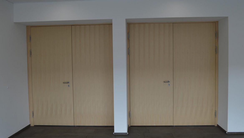 Zweiflügelige Tühre; Schallschutztür; Brandschutztuehre