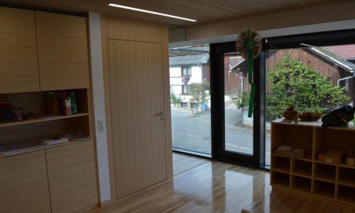 Barrierefreie Tür; Sondertühre; Funktionstüren aus Holz